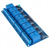 8-channel relay module with optocouplers, relay control panels, PLC relay