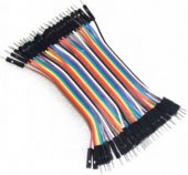 10CM Rainbow Cable 40P Male to Male