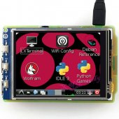 3.2 Inch Resistive Touch Screen TFT Xpt2046 LCD Compatible with Raspberry Pi Model B B+ Raspbian Video Photo System