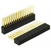 2*18 pin header 2.54mm tower long legs female for arduino shield