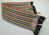 30CM Rainbow Cable 40P Male to Female